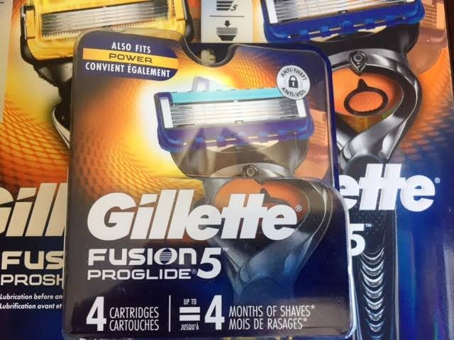 27976 - FUSION PROGLIDE BLADES 4 PACK & PROGLIDE AND PROSHIELD RAZOR USA