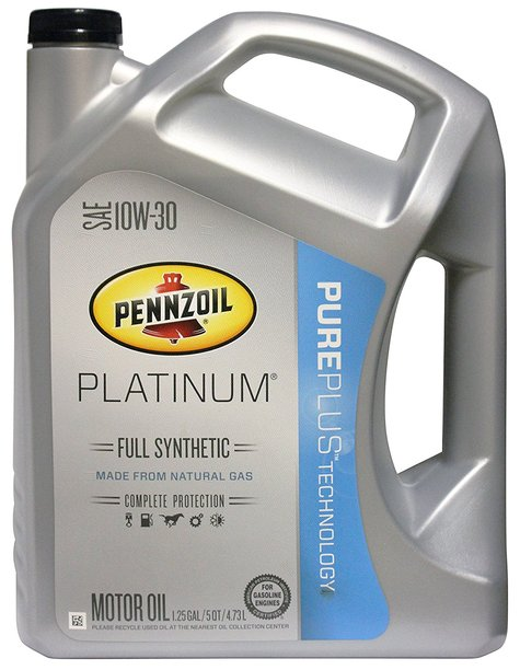 28085 - Pennzoil Platinum Full Synthetic 0W20, 5W20, 5W30, 10W30, 10W40 USA