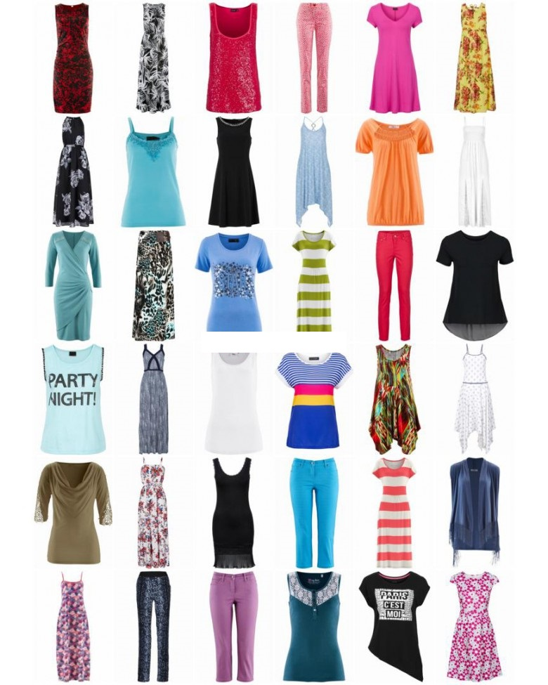 28256 - Women's Summer Clothing Mix arrived Europe