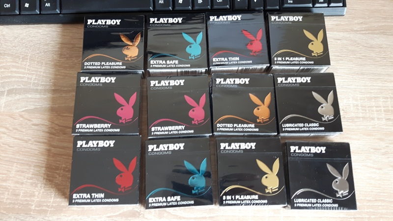 28556 - Playboy Condoms Europe