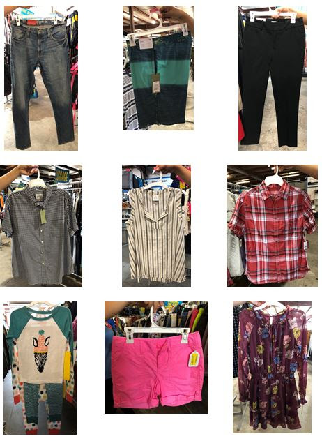 28598 - TGT APPAREL CASE LOT LOAD USA