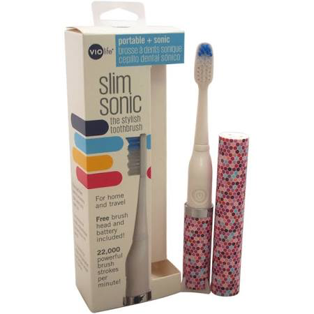 28631 - Violfe Slim Sonic Electric Toothbrush USA