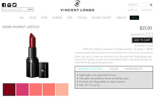 28725 - Vincent Longo Cosmetics Europe
