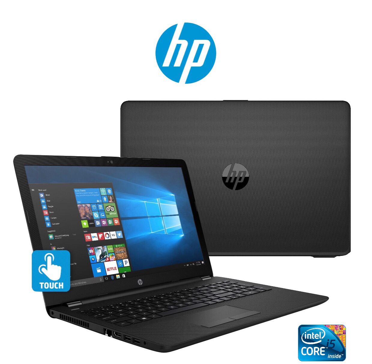 "29245 - HP 15.6"" Touch-Screen Laptop, Intel Core i5, 8GB RAM, 1TB HDD, Windows 10 USA"