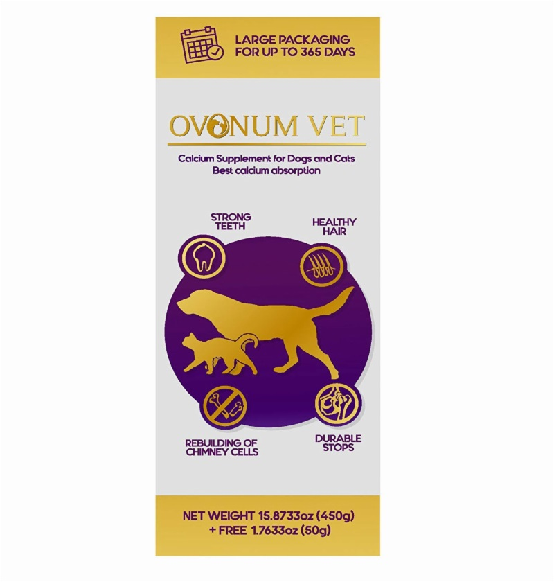29273 - Ovonum Vet - Calcium Supplement For Pets (Dogs And Cats) USA