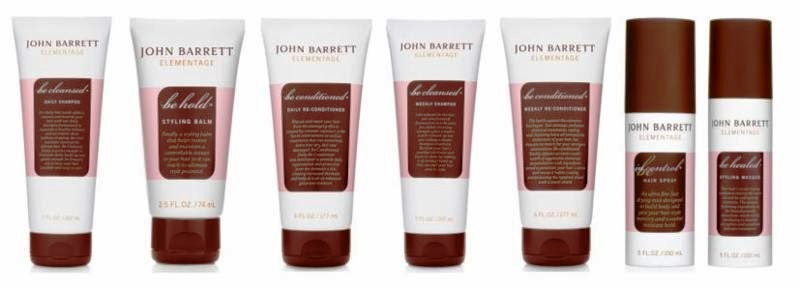 30268 - John Barett Hair Care Seven (7) Products USA