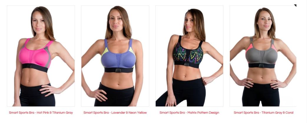 97296b769a Mi Pulse Smart Sports Bra With Heart Rate Monitor USAStock offers ...