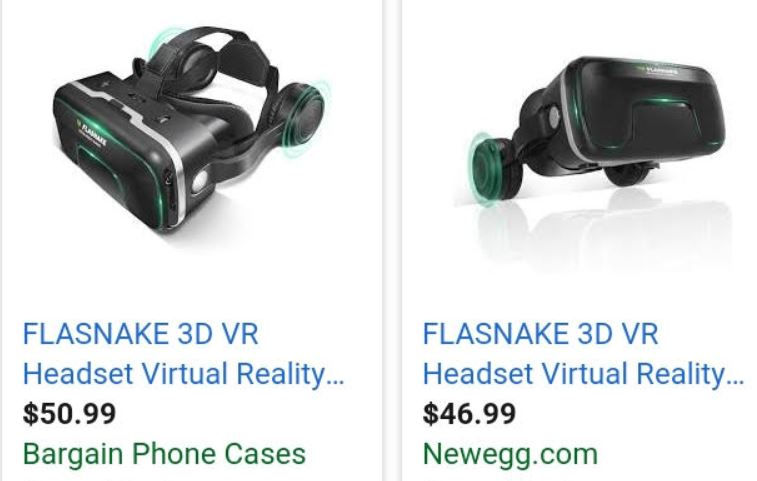 30823 - FLASNAKE 3D VIRTUAL REALITY HEADSET GLASSES USA
