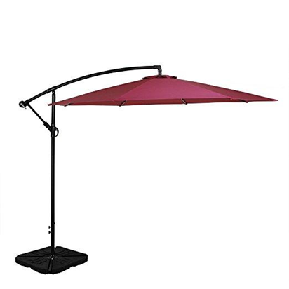 31240 - 10' LED Lighted Patio Umbrella Closeout USA