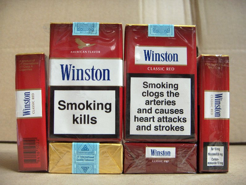 31315 - Winston cigarettes Europe