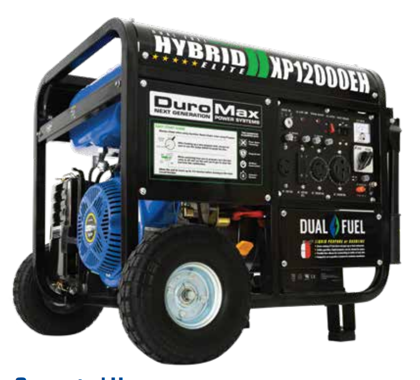 32025 - DuroMax hybrid power generators USA
