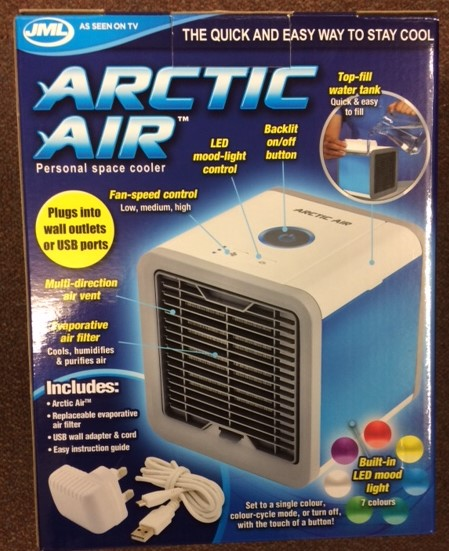 32042 - Arctic Air Portable Cooling Fans Europe