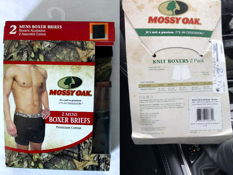 32469 - Specials on Boxers, Mossy Oak Boxer Briefs USA