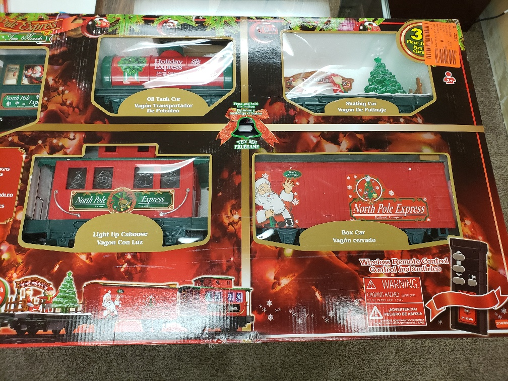 32567 - North Pole Express Train Sets USA