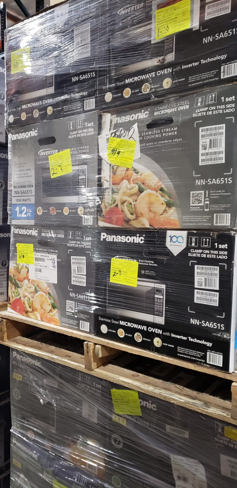 32616 - Panasonic Microwave Truckload USA
