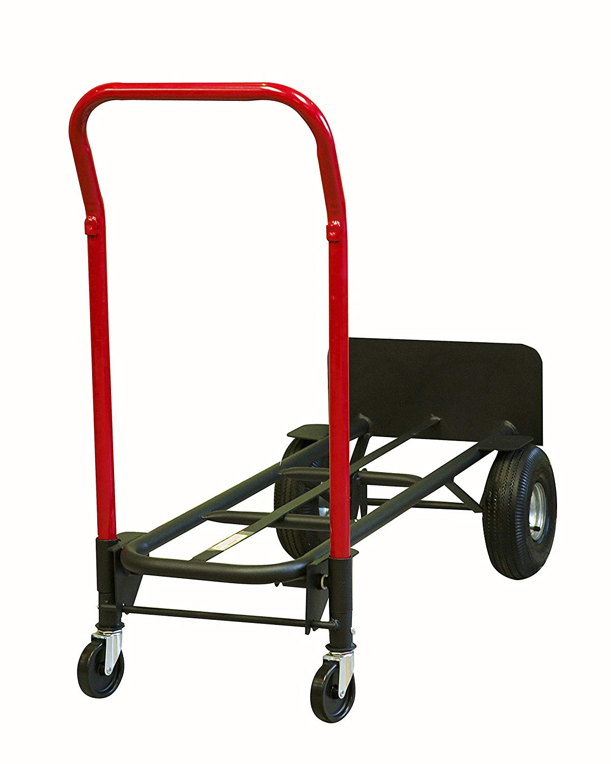 32766 - New Milwaukee Heavy-Duty Quick-Latch Convertible Hand Truck USA