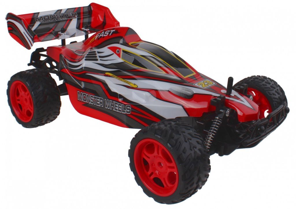 32915 - Gearbox RC Racing Car 1:10 (red, 40x24x15cm) Europe