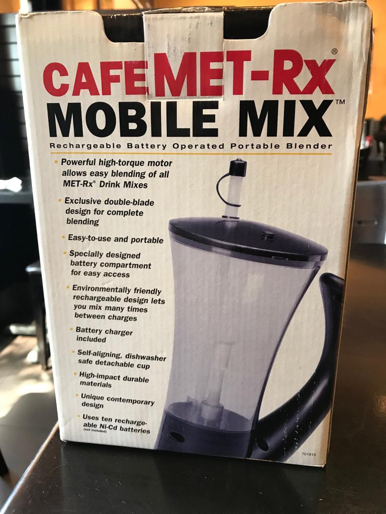 33056 - Portable Met-RX Blender Deal USA