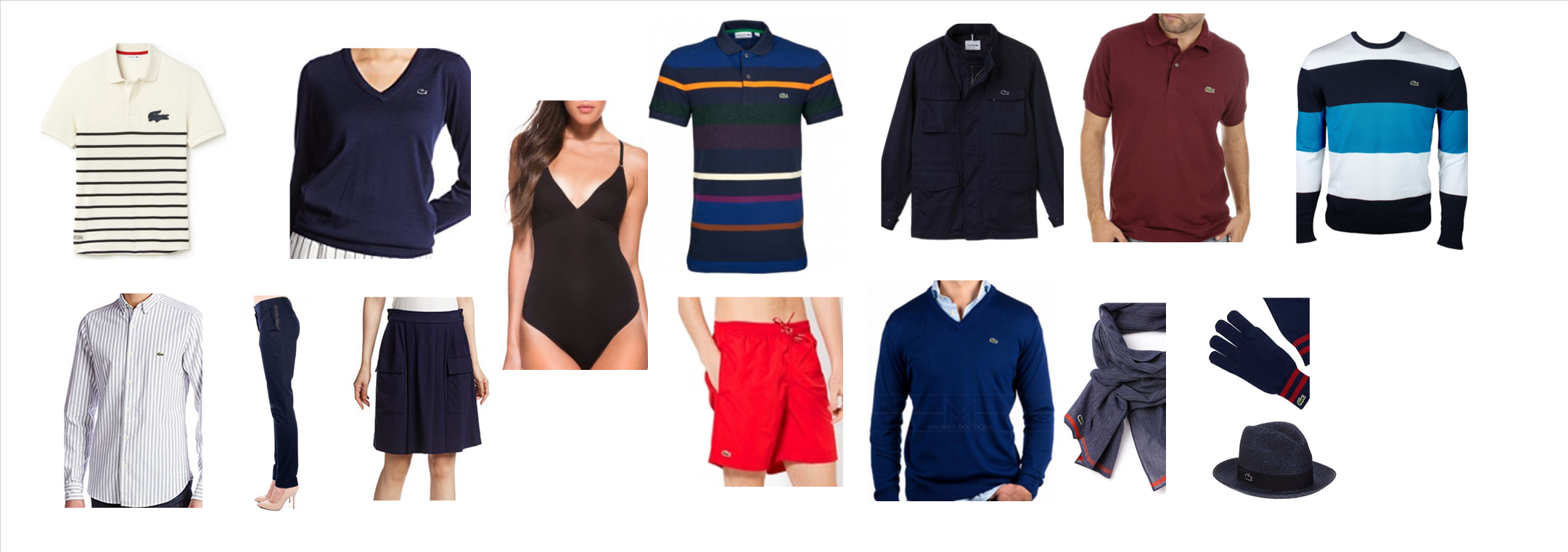 33213 - LACOSTE Apparel and Accessories for Men and Women Europe