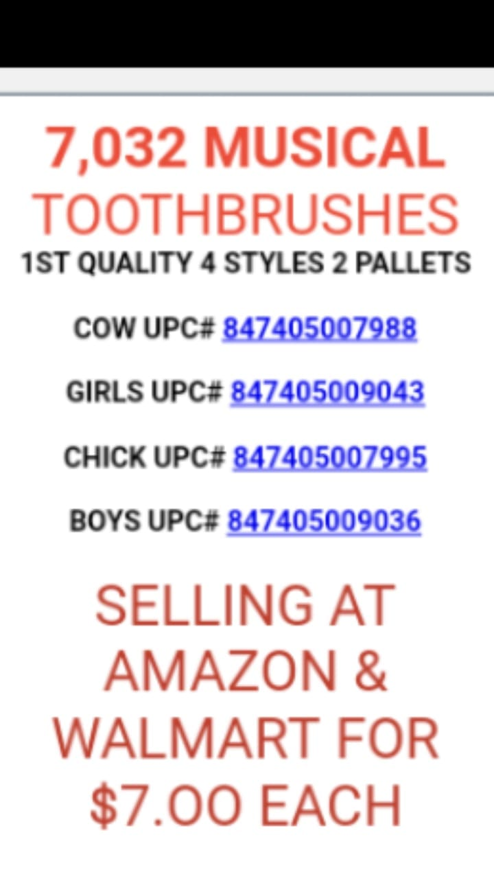 33239 - Musical Toothbrushes USA