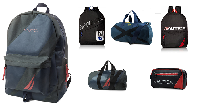 33636 - NAUTICA Clearance Stock Water resistant travel bags and back packs USA