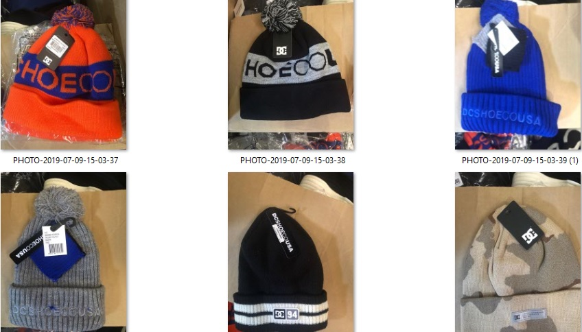 34244 - DC ASSORTED BEANIES USA
