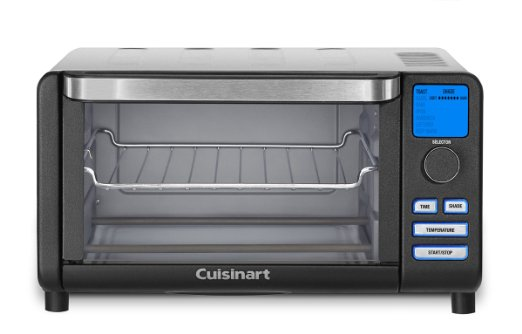 10697 - Cuisinart TOB-100BW Compact Digital Toaster Oven Broiler, Black Wrinkle USA