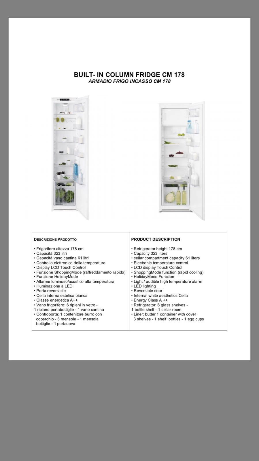Mensole In Vetro Luminose.Freezer Europestock Offers Global Stocks