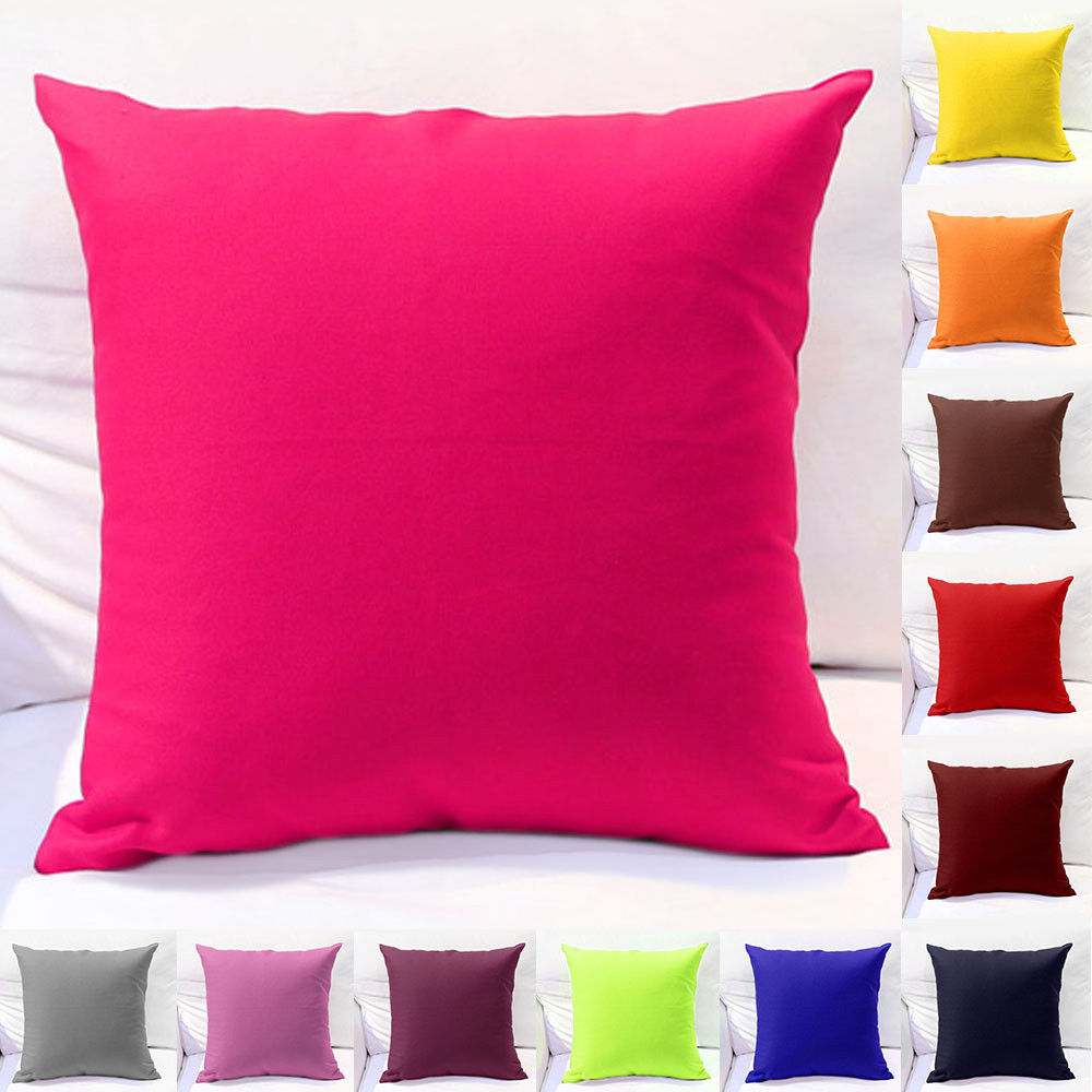 29020 - SOLID CUSHION COVERS India