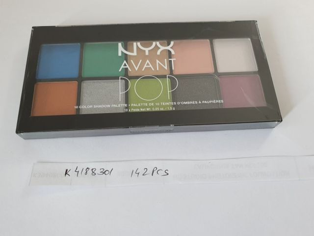 34249 - Stock of NYX Cosmetics Europe