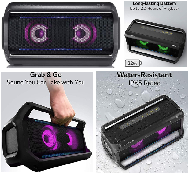 35029 - New LG Bluetooth Party Speakers offer USA