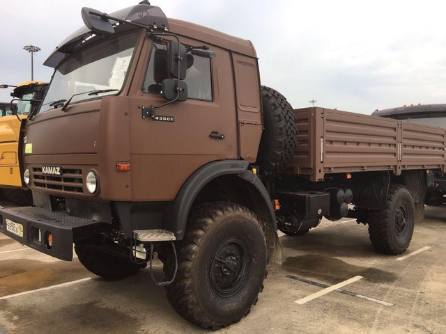 35059 - RHD OFFER - BRAND NEW KAMAZ TRUCK 4X4 Europe