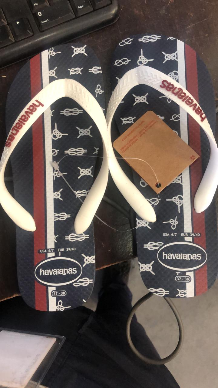35646 - New stock offer of sleepers ex- Colombia Havaianas