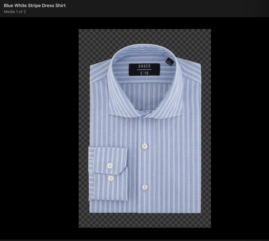 35978 - UNDER MEN'S DRESS SHIRTS USA