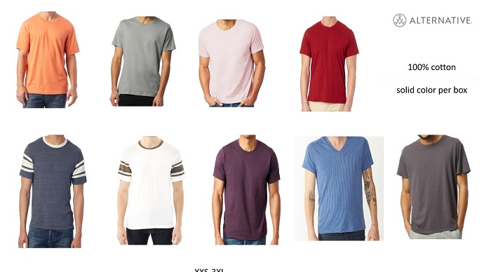 37365 - First Quality 100% Mens Tee Shirts USA