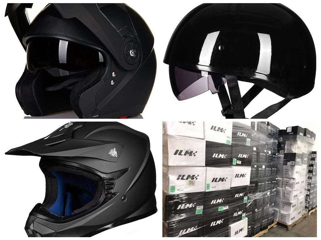 37390 - Motorcycle Powersport Helmets. Full & Half Helmets USA