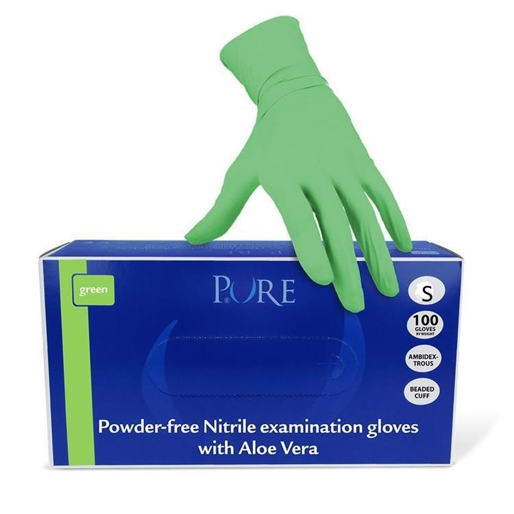 37672 - Nitrile gloves size S Europe