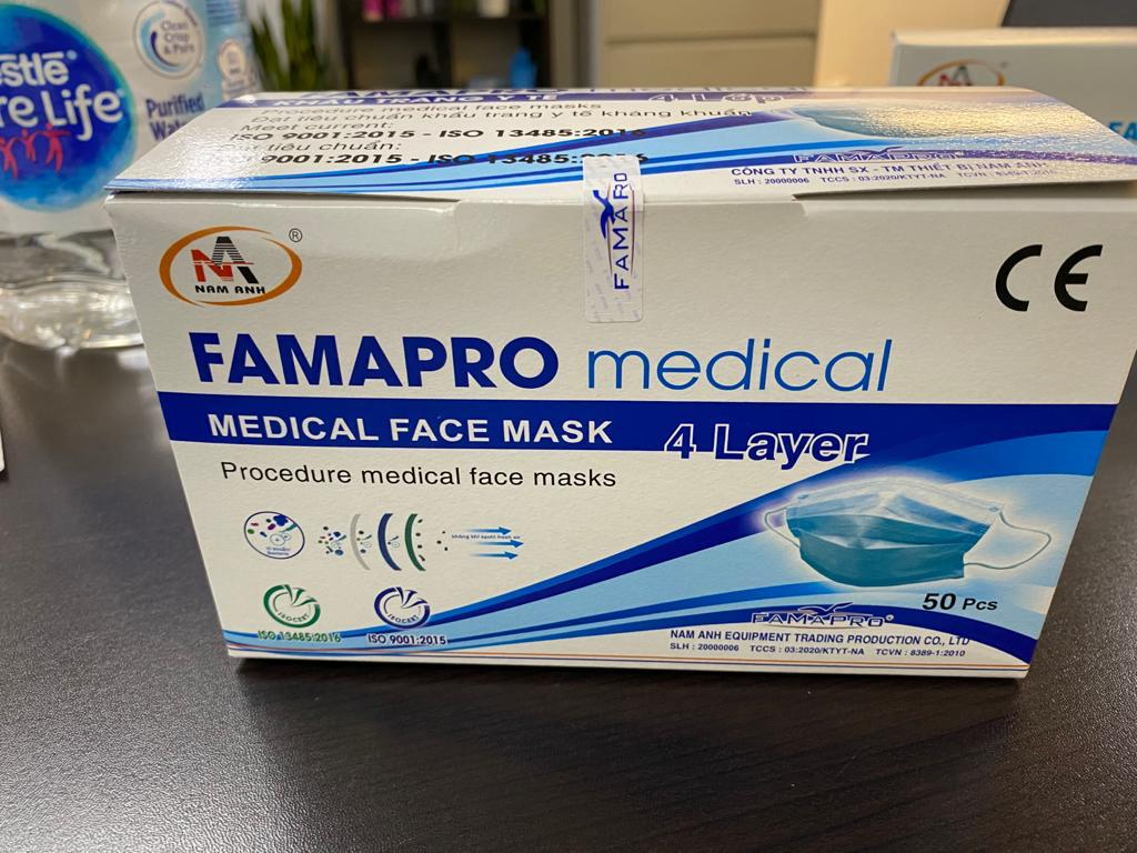37680 - Level 3 4Ply Disposable Medical Mask USA
