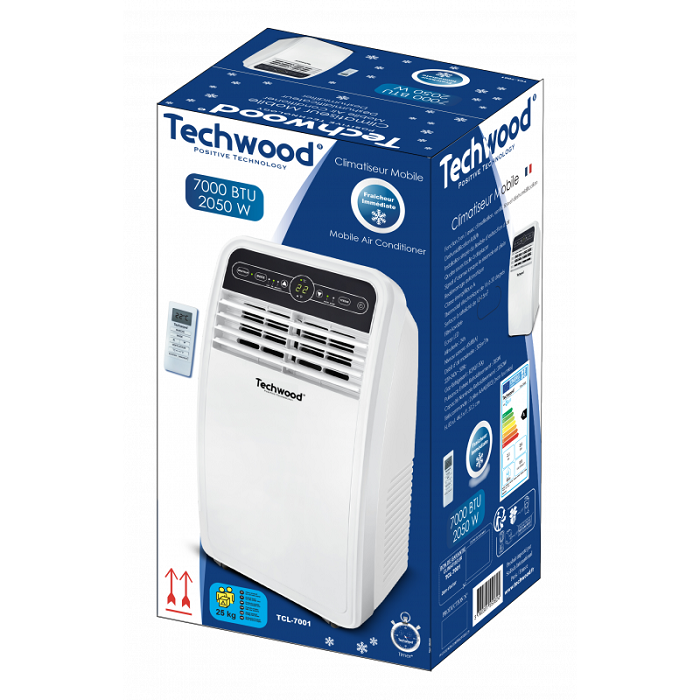 38046 - Mobil Air Conditioner Techwood 7000 BTU Europe
