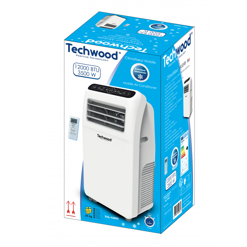 38047 - Mobil Air Conditioner Techwood 12000 BTU Europe