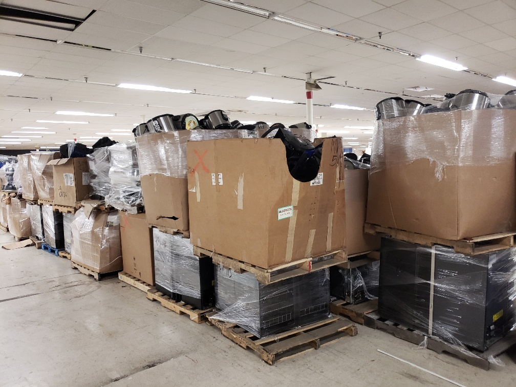 39050 - Small Appliance Full Truck Load USA