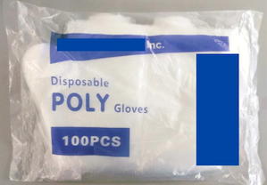 39062 - Poly Gloves 21 Truckloads - Food Service - Non Medical USA