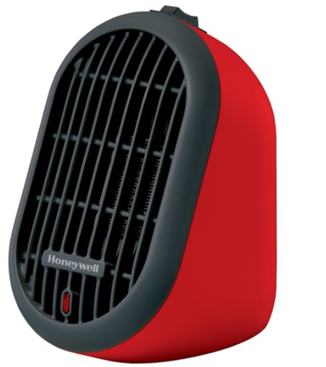 39093 - Honeywell HCE100R Heat Bud Ceramic Heater, Red USA