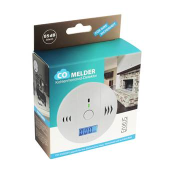 39165 - Carbon monoxide detector with 85dB alarm Europe