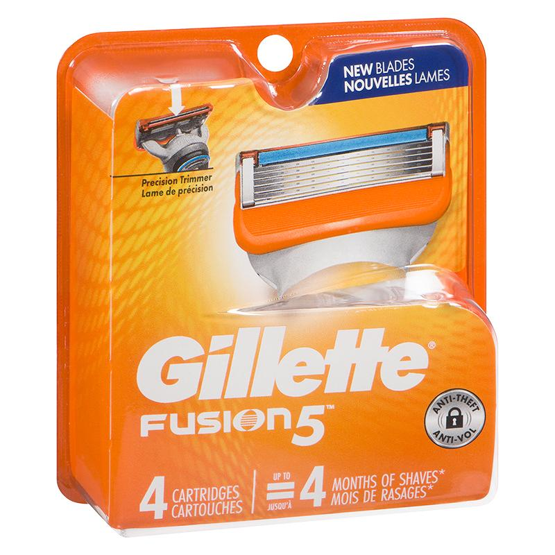 39441 - Gillette Fusion 4's - P&G Europe