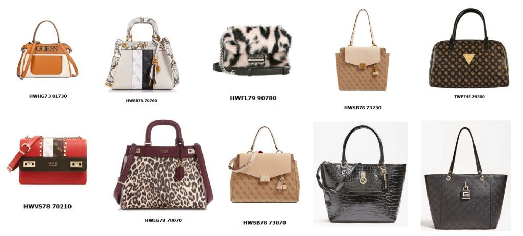 39514 - GUESS ACCESSORIES NEW COLLECTION Europe