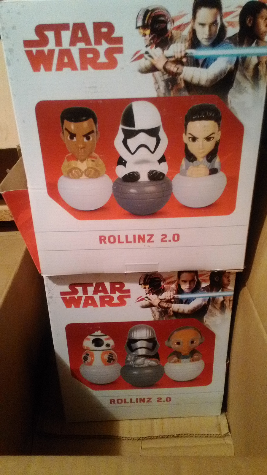 39532 - Star Wars Rollinz Collectible Figures Europe