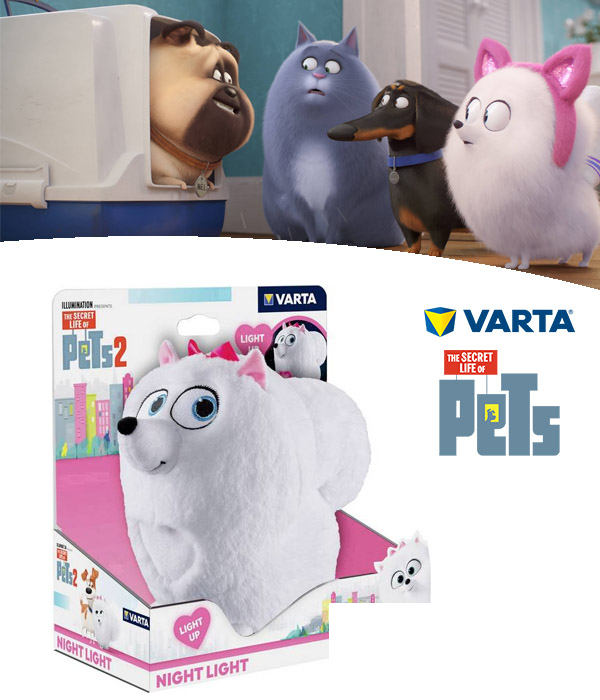 39752 - Varta - Secret Life Of Pets Light Europe