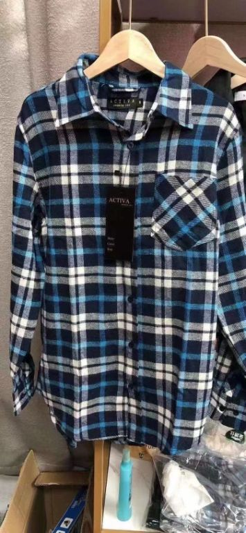 40001 - Men Brushed Shirts China