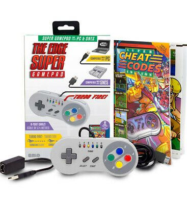 40590 - EMiO Edge Gamepad for SNES Mini - Super NES USA